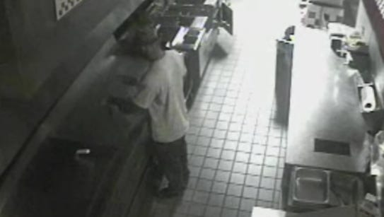 Man breaks into Five Guys, fixes something to eat