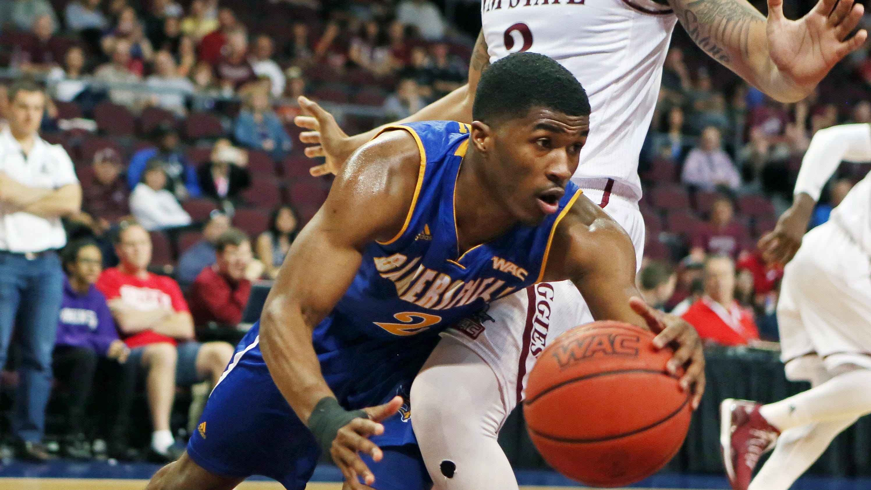 New Mexico State Beats Cs Bakersfield 57 53 At Wac Tourney