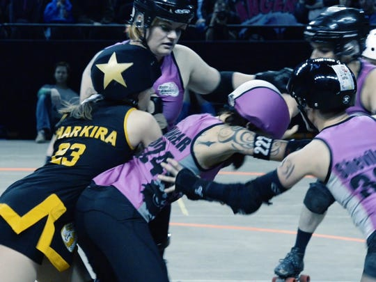 """The documentary """"Roller Life"""" takes a look inside the world of the Brewcity Bruisers, Milwaukee's roller-derby league."""
