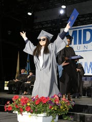 Middlesex County College held its 50th Commencement exercise on Tuesday.
