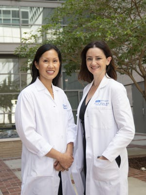 Elizabeth Ko, M.D. and Eve Glazier, M.D.