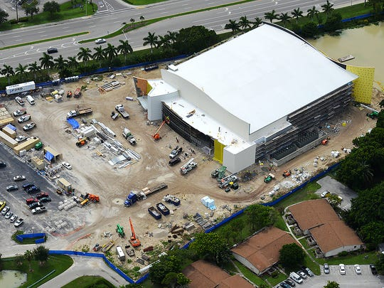 Two basketball games are set to be played at SunCoast Credit Union Arena on Nov. 29. The arena is located on the Florida SouthWestern State College campus in Fort Myers.