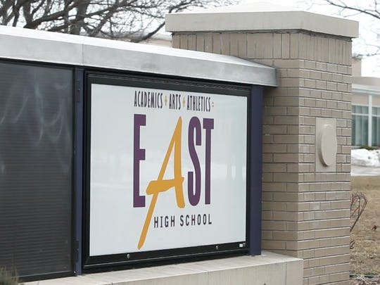 The state told Rochester's East High School that it must reorganize or be replaced.