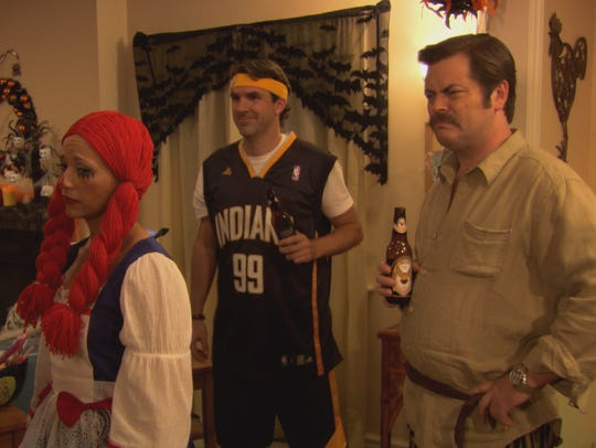 Mark Brendanawicz goes with the classic Indiana Pacers