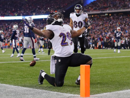 Baltimore fans want a rematch of last year's AFC Divisional round against New England.