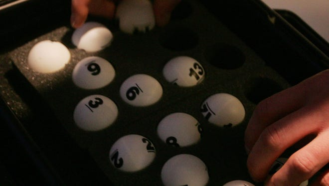Saturday night, many ping pong balls determined the first three picks of June's draft.