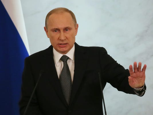 Putin blasts West in state of nation address