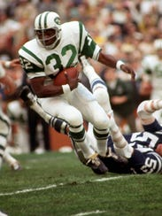 New York Jets running back Emerson Boozer in action