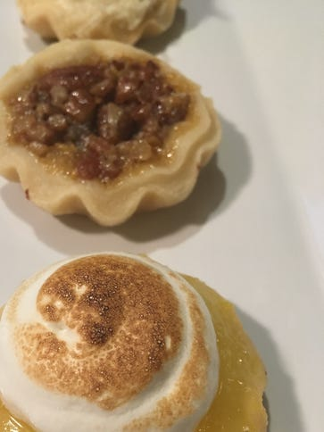 The mini pies ($1) at Vic's Pastries are delightful,