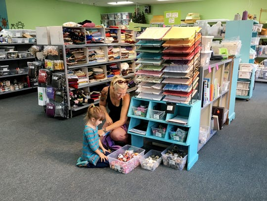 The new SMART! Store  relocated to  Music Valley Drive, where it sells donated items that could be used in an art or craft project. Sales at the store benefit Progress Inc.
