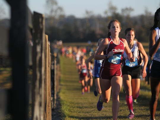 Regional cross country at Oaks Equestrian Center in