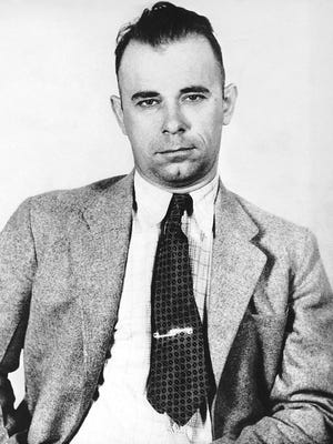 Notorious bank robber John Dillinger visited Bethel in October 1933, looking for his girlfriend, who was betrothed to another.