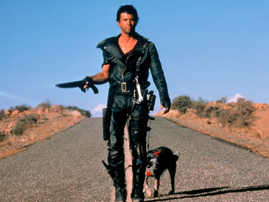 """Mel Gibson in the original """"Mad Max"""" in 1979."""