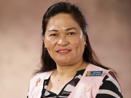 GMH Volunteers Association volunteer, Myrna Aquino,