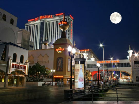 Atlantic City has a great variety of restaurants.