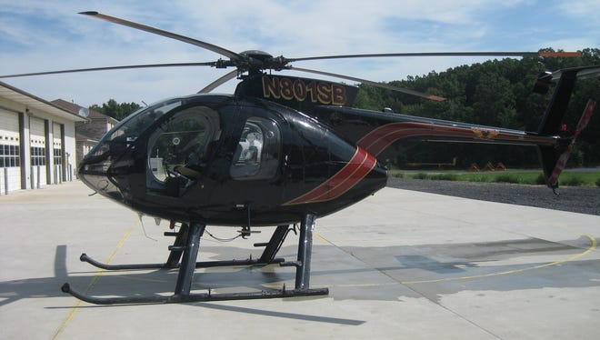 The helicopter IPL will be using to inspect power lines in Hamilton County