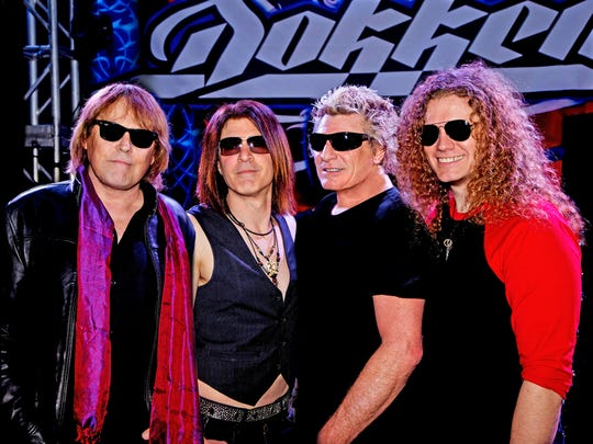 Veteran hard-rock band Dokken plays tonight at the New Daisy Theatre.