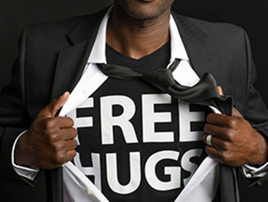 The Free Hugs Project will be at Penn State York Aug.