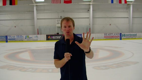 Live from Bremerton Ice Center.