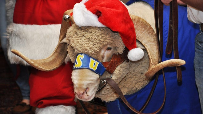 Angelo State University Alumni Association will host its seventh annual Santa, Pancakes and Ewe