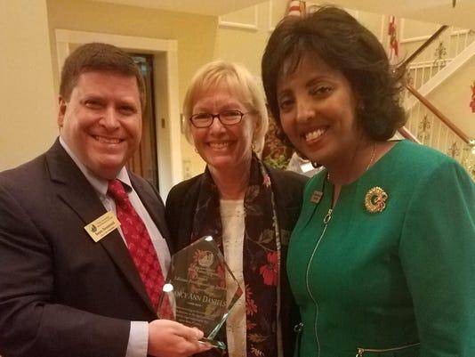 Nancy Daniels Award Presentation 2017