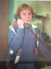Amy Coomes, a Uniontown Elementary School fourth grader, couldn't wait to call her mother after winning the county-wide spelling bee the week of January 31st, 1996. She advanced to the Evansville Courier Tri-State Spelling Bee as a result.