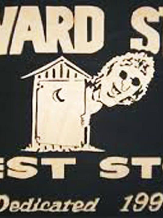 HS Rest Stop Plaque