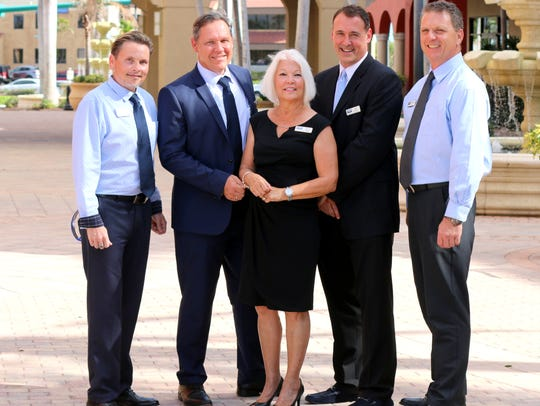Coldwell Banker International Group, from left, Anthony