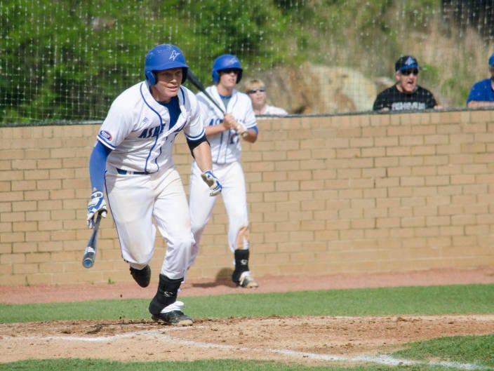 Erwin alum Hunter Bryant is a senior for the UNC Asheville baseball team.