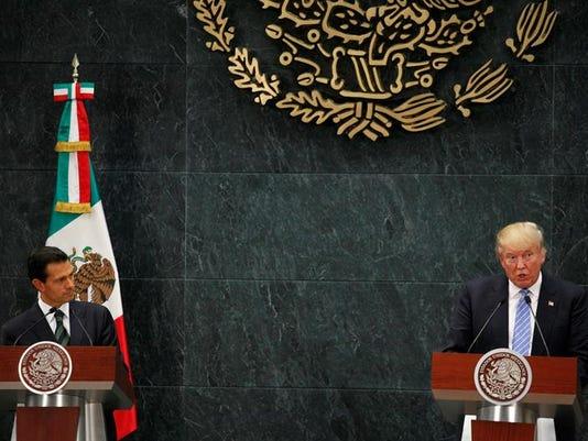 Nieto y Trump
