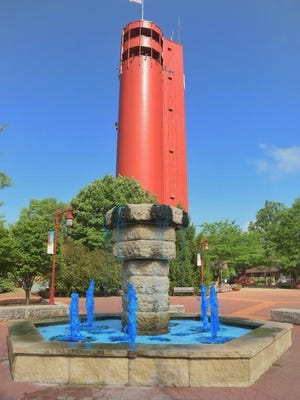JOURNAL STAR FILE PHOTOThis file photo shows Tower Park, located behind Village Hall  in Peoria Heights, that will be the site of a voter registration drive on Saturday..