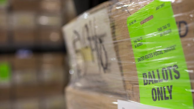 More than 150,000 early and provisional Arizona ballots remained to be counted Wednesday morning