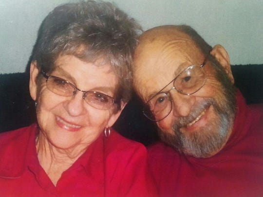 Bonnie and Everett Burkholder celebrated their 65th