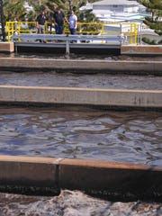 The South Beaches Wastewater Treatment Plant in Melbourne