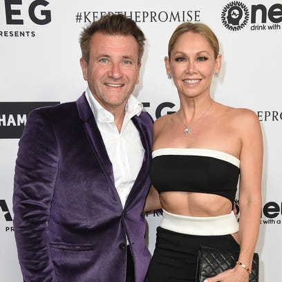 Robert Herjavec and Kym Johnson have welcomed twins.