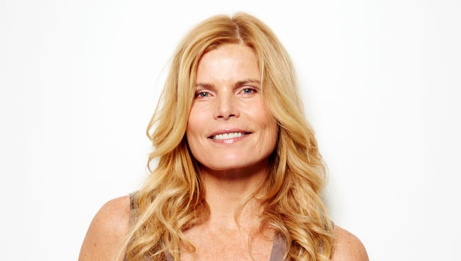 """Actress and author Mariel Hemingway poses for a portrait in promotion of her new memoir """"Out Came the Sun"""" on Monday, April 6, 2015 in New York. (Photo by Dan Hallman/Invision/AP)"""