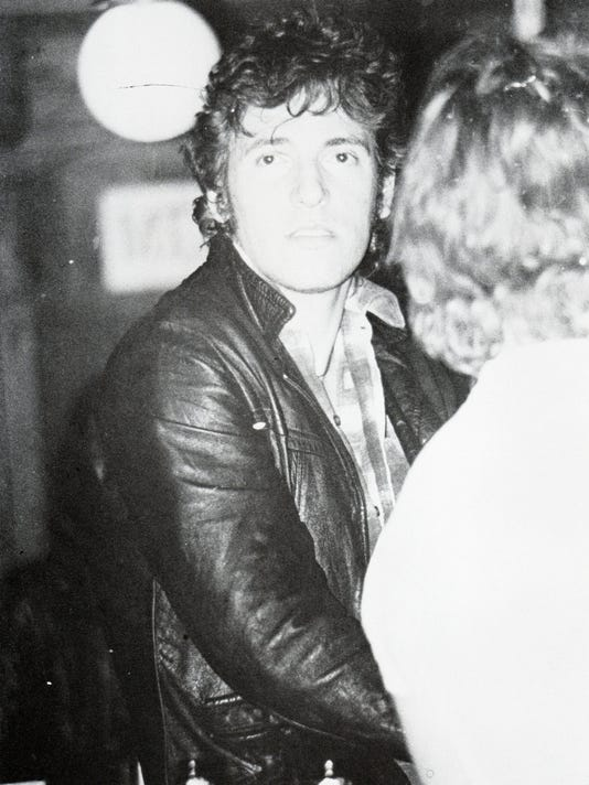 Bruce Springsteen at the Fast Lane 1979