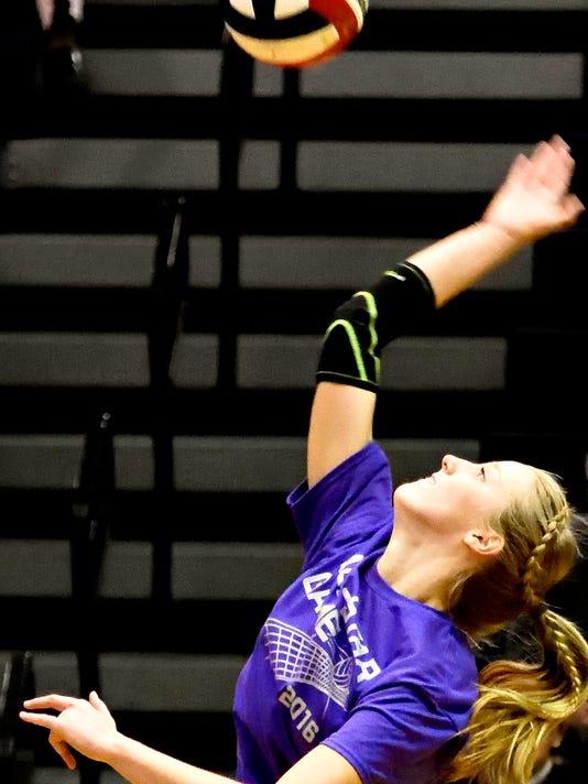 York-Adams League Girls Volleyball All-Star Match