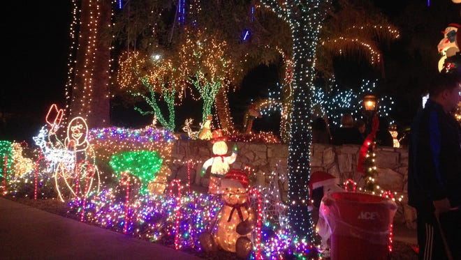 Lee and Patricia Sepanek decorated their Arcadia home with 250,000 Christmas lights for more than 30 years.