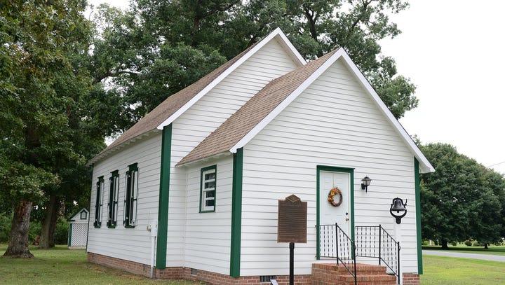 Millsboro one-room school's restoration shows a different era in education