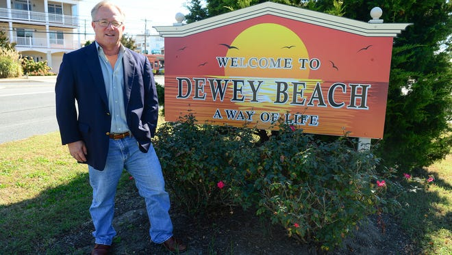 Dewey Beach Mayor T.J. Redefer poses for a photo.