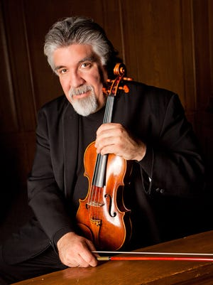 Grammy-nominated guest violinist Andrés Cardenes will return to Richmond to play Philip Glass' violin concerto.