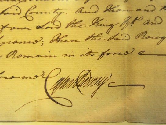 Rodney-signature