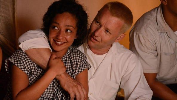Ruth Negga and Joel Edgerton are the interracial couple
