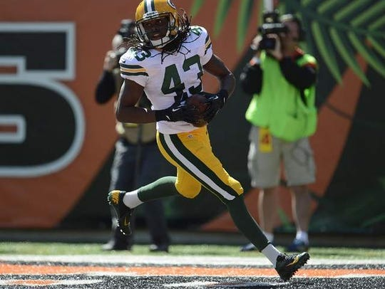 M.D. Jennings, a free-agent safety, has left the Green