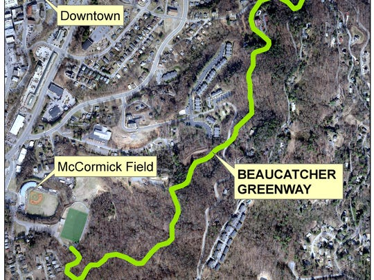 The Beaucatcher Greenway