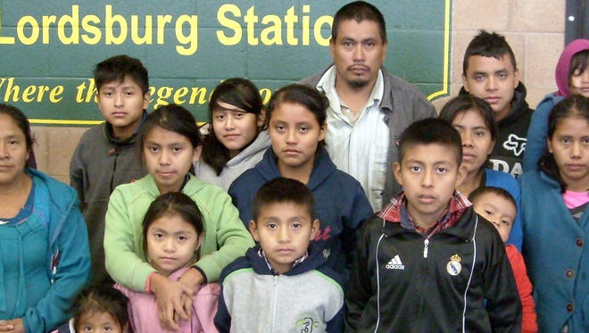 The 18 migrants who were rescued near Lordsburg included six adults and 12 children - the youngest a 1-year old.