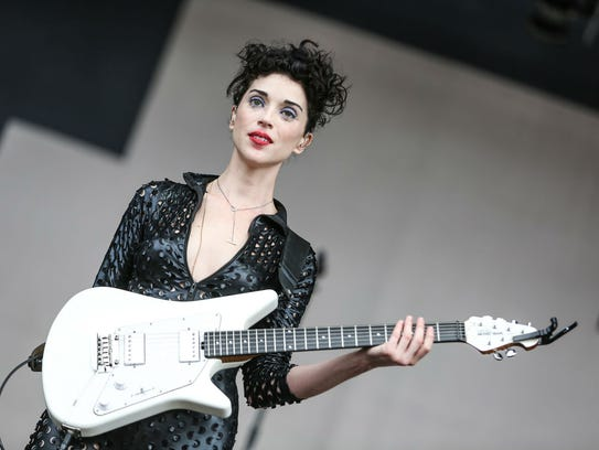 St. Vincent will perform Nov. 15 at Old National Centre.