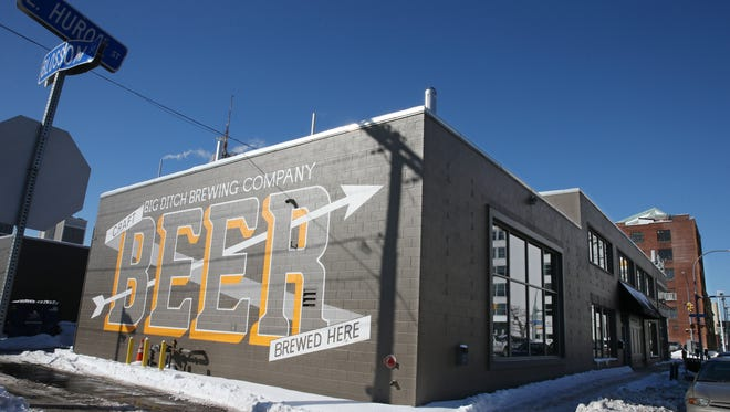 Big Ditch Brewing Company in downtown Buffalo.