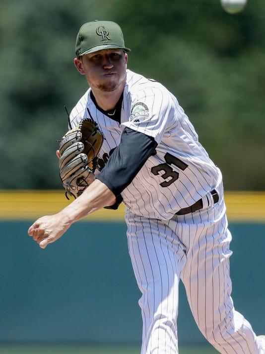 USP MLB: CHICAGO WHITE SOX AT COLORADO ROCKIES S BBN COL CHW USA CO
